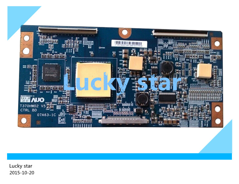 good working High-quality for original 99% new for board T370HW02 V5 07A63-1C T-con logic board 2pcs/lot 99% new good working high quality original for board t315hw04 vb ctrl bd 31t09 con t con logic board