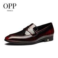 Oxfords de Los Hombres de Charol Zapatos de Vestir para la Fiesta DEL OPP WeddingCasual Zapatos Oxfords Zapatos para La Escuela Oficina abre