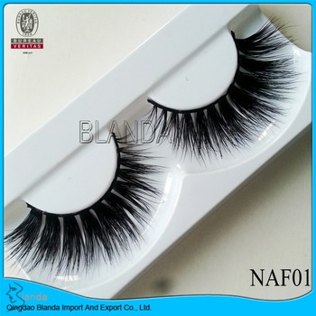 UPS Free shipping Natural Long Mink Eyelashes 100pair Thick False Eyelashes Set Natural Long Lashes Makeup Fake Eyelashes