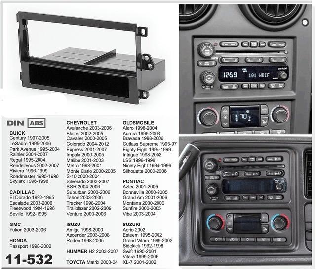 Free Shipping 11 532 Car Dvd Radio Fascia Panel For