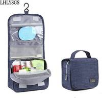 LHLYSGS Brand Hanging Cosmetic Bag Women Travel Portable Beauty Makeup Bag Men Bathroom Waterproof Wash Organizer