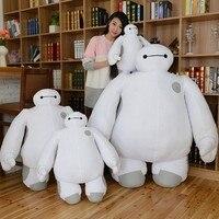 High quality Big size 50cm Baymax Cartoon Movie Plush Dolls Stuffed Toys Big Hero 6 baby toys baymax plush kids gift 40 & 30 cm