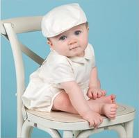 Baby Boys Baptism Gown Boys Christening Clothes 1st Birthday Party Wedding Baby Boy Clothes Dress Gentleman Baby Outfit With Hat