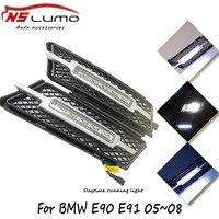 Super White 10W LED DRL Daytime Running Lights Parking Lamp For BMW 3 Series E90 E91