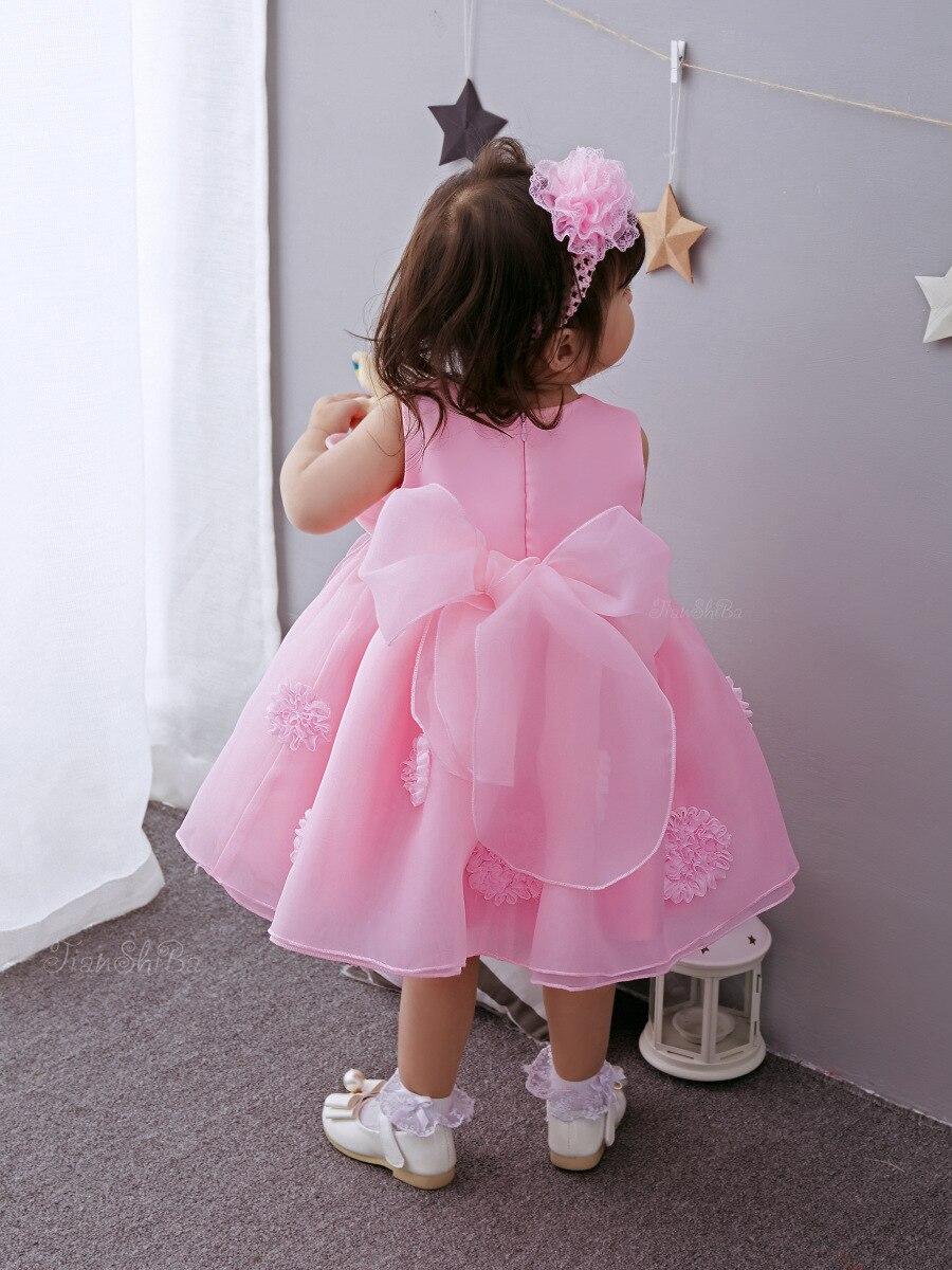 DOTE Baby girl clothes Infant Toddler vestido Lolita primera fiesta ...