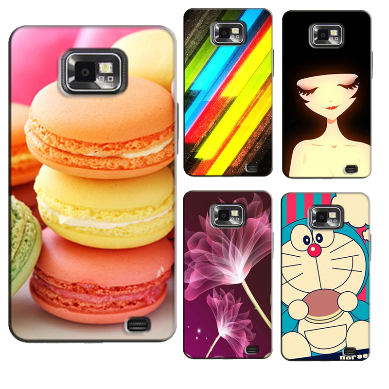 Case for Samsung Galaxy S2 S 2 SII i9100/S2 Plus i9105 Hard Back Cover Case Colourful Beautiful Phone Cases Protector Bags
