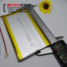 Batterie lithium polymère 10000, 8873130 mAh, grande capacité, chargeur 3.7v, alimentation mobile, batterie intégrée