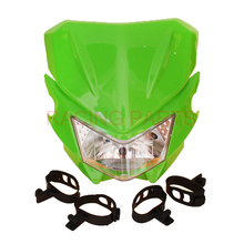 Dirt bike Motorcycle Universal Vision Headlight for KLX110 Fit Off Road Pit Bike CRF KLX Motocross