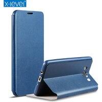 X Level Phone Case For Samsung Galaxy J7 2016 J7108 TPU Inside Classic Ultra Thin Clamshell