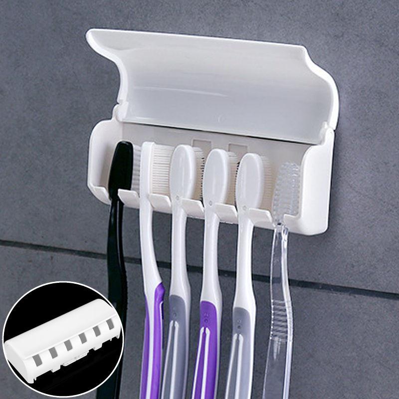 Домашний Ванная комната Зубная щетка SpinBrush держатель с присоской настенная вешалка Семья