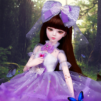 Princess Dolls Jointed Articulated Doll Toys
