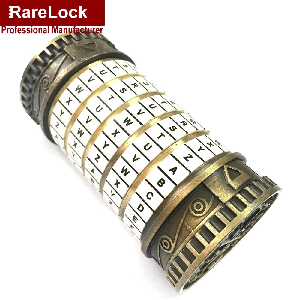 Фотография Rarelock Wedding Box TAKAGISM Game Lock Back Room Code Pot 5 Letters A to Z Password Tank Game Wedding Lock a