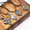 world of warcraft pendant necklace for men and women WOW steampunk necklace male tribe Lion's Head The Alliance Mark necklaces