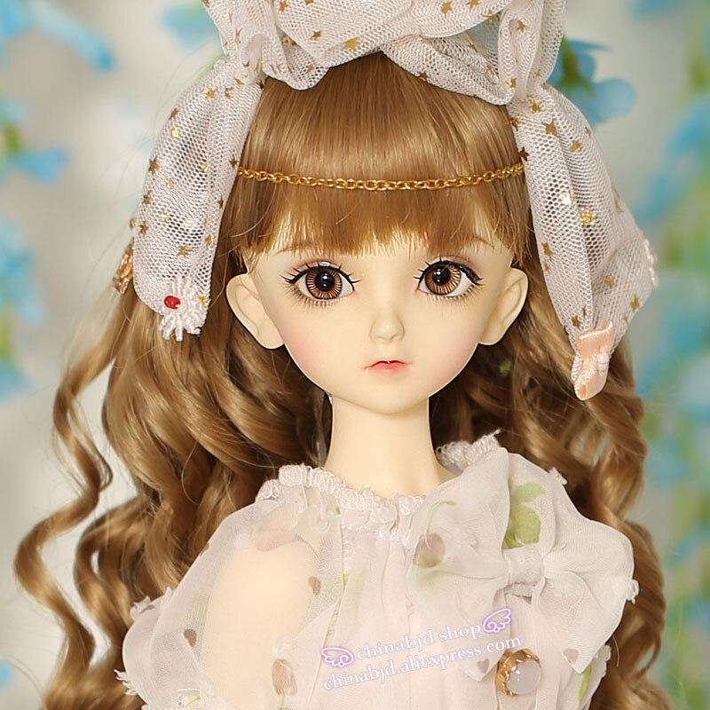 OUENEIFS msd F33 Volks bjd sd dolls 1 4 body model girls boys eyes High Quality
