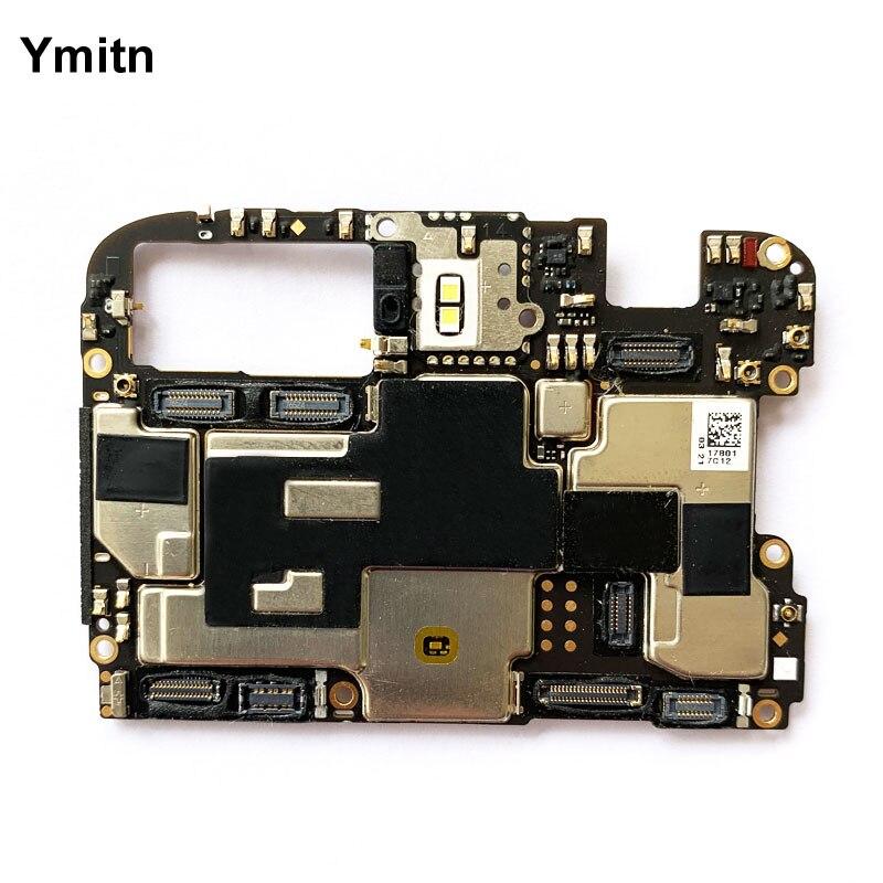 Ymitn Desbloqueado Placa Principal Placa Lógica Motherboard Com Chips de Circuitos Flex Cable Para OnePlus 5 T OnePlus5T A5010 64 GB