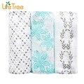 3 Pcs Pacote De Bambu Segurar Wraps Infantil Swaddles Musselina Cobertores Do Bebê Recém-nascido de Algodão Macio Toalha de Banho
