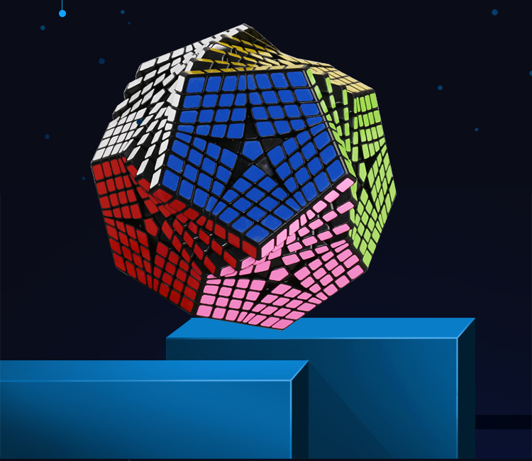 2018 Shengshou Tegaminx Puzzel Cube 12 Gezichten Professionele 8x8x8 PVC & Matte Stickers Cubo Puzzel Speed klassieke Educatief Speelgoed - 4