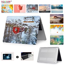 Hot Simulation Picture Case For Apple Macbook Air 13 Case 11 Pro 15 Retina 12 Laptop Bag For New Air 13 Pro 13 Touch bar Case crystal case for apple macbook air pro retina 11 12 13 15 laptop bag for macbook pro 13 15 2017 model touch bar