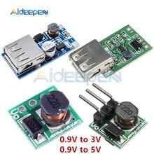 0,9-5 в до 5 В 0,9-3 в до 3,3 В DC-DC Повышающий Модуль преобразователь напряжения трансформатор плата 1,5 в 1,8 в 2,5 в 3,3 В 3,7 в 4,2 в ма