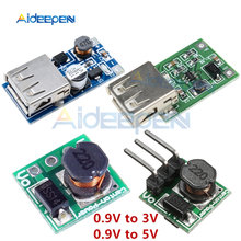 0.9-5V Naar 5V 0.9-3V Tot 3.3V DC-DC Step Up Module Voltage Boost converter Transformator 1.5V 1.8V 2.5V 3.3V 3.7V 4.2V 600MA(China)