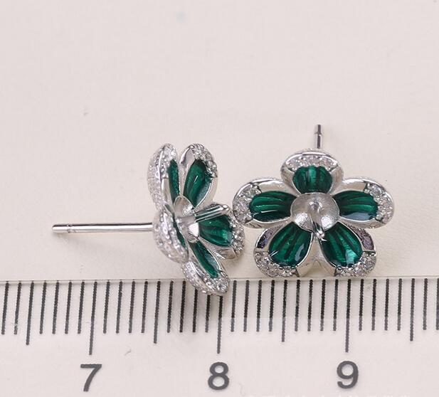 Bijoux parfaits 7-8 MM boucles d'oreilles en perles d'eau douce blanches 925 en argent Sterling
