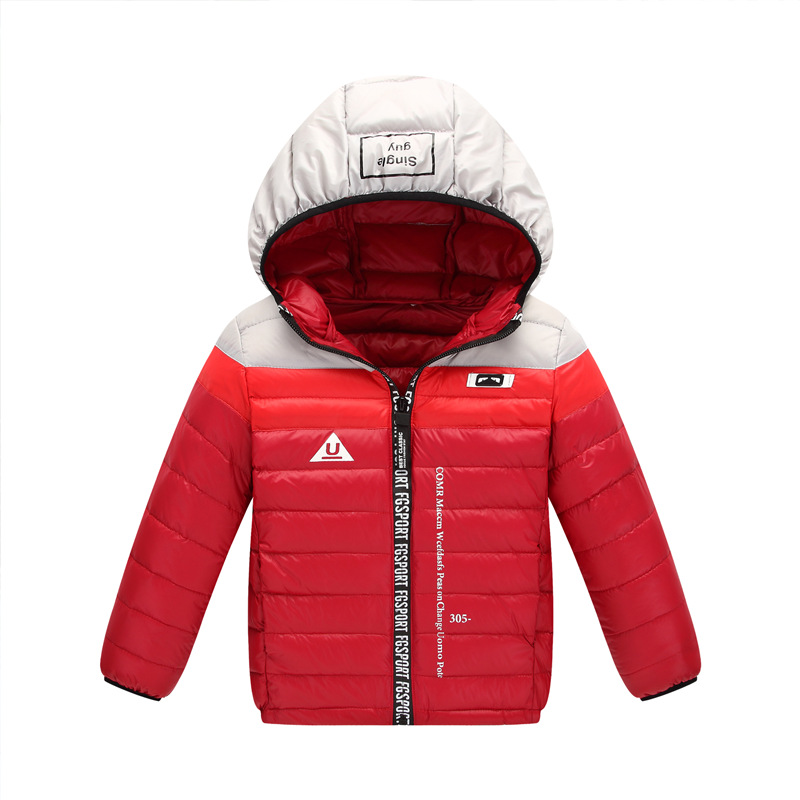 Children Down Parkas Kids Clothes Winter Thin Warm Boys Girls Gradient Color Jackets & Coats Baby Thermal Liner Down Outerwear children winter coats jacket baby boys warm outerwear thickening outdoors kids snow proof coat parkas cotton padded clothes