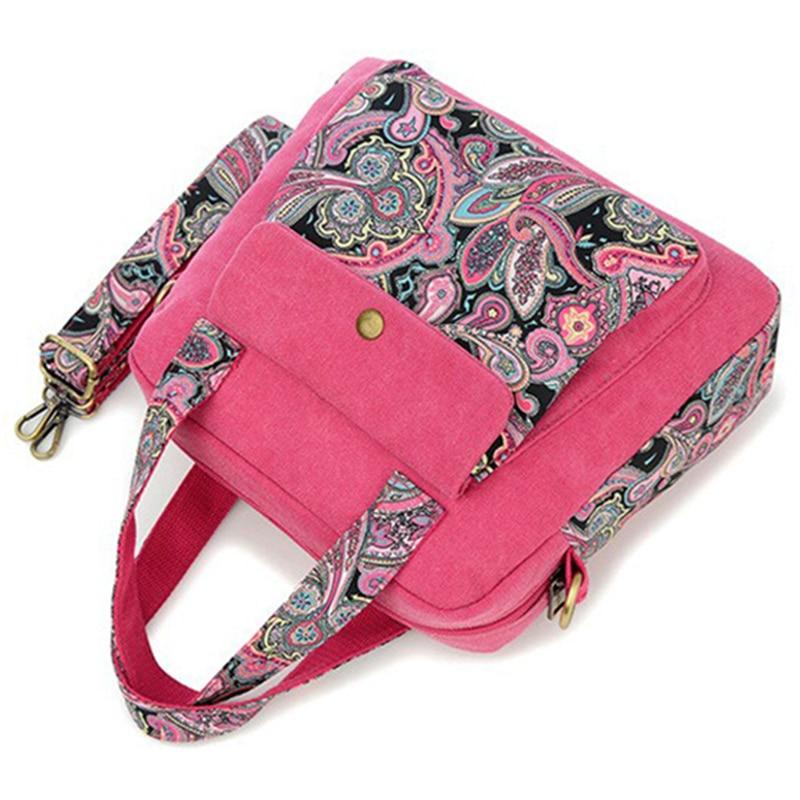 Women's Paisley Print Shoulder Bag 5