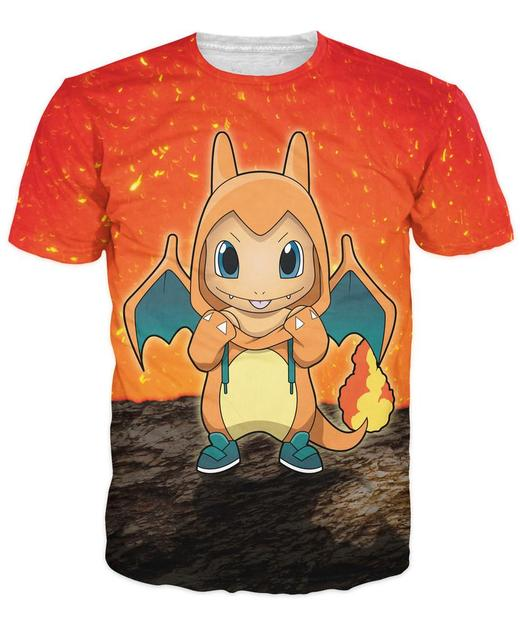 Pokemon Charmander T-Shirt