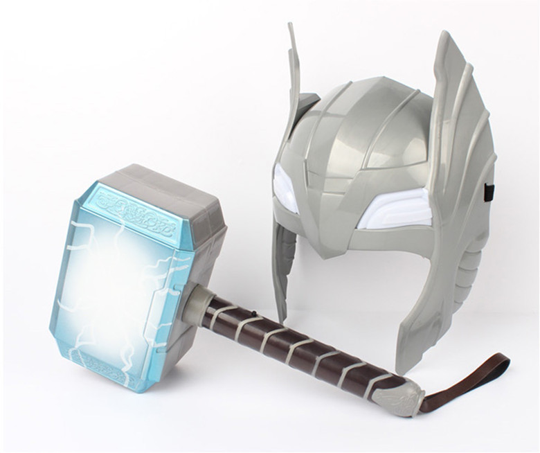 child cosplay the avengers 2 thor led light luminous sounding
