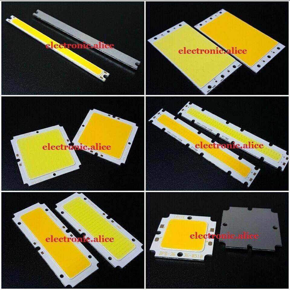 12V 24V 36V 5W 10W 50W COB LED Square/ Strip Light Lamp Bead Chip Diy Long Life36 X 36mm  9450-0414  6969-1212
