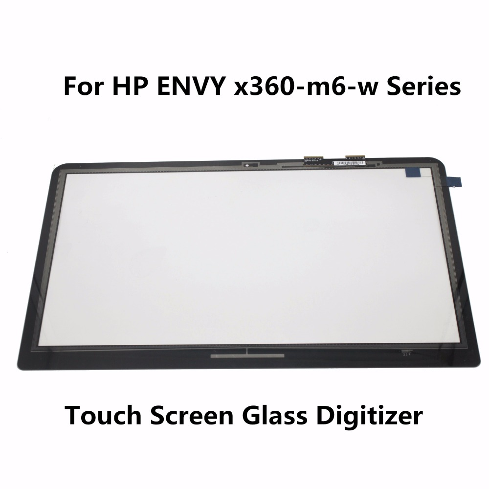 Touch Screen Glass Digitizer For HP ENVY x360-m6-w102dx m6-w105dx m6-w103dx m6-w101dx m6-w010dx m6-w015dx m6-w011dx m6-w014dx for hp x360 m6 top15099 v0 1 touch screen digitizer glass replacement