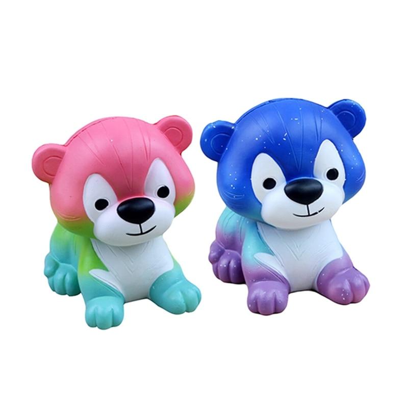 Squishy Simulation Tiger PU Slow Rebound Decompression Kid Toys Fun Toy Gift