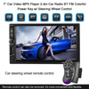 Hot Universal 7 2 Din Car Video MP5 Player Car Radio Rearview Camera BT FM Colorful