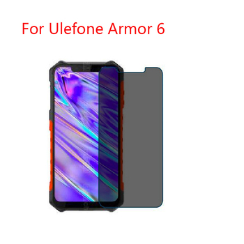 For Ulefone Armor 6 (2-Pack) Screen Protector Privacy  Anti-Blu-ray effective protection of vision