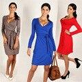 Мода для беременных одежда беременных женщин грейс платья v шеи ПР женщины платья твердые maternidad платье весна и осень платья