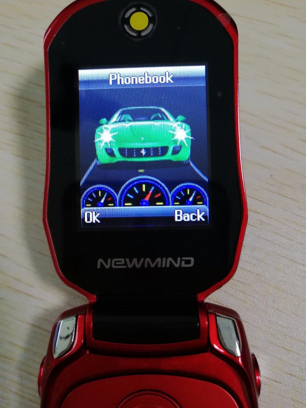 Фото телефона в форме машины