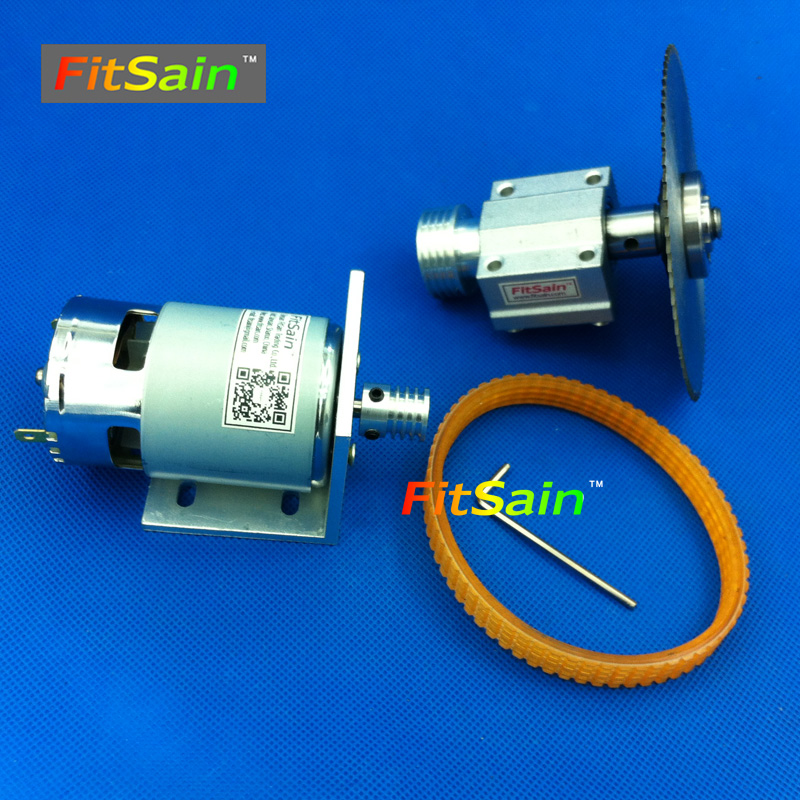 FitSain-Mini table saw for saw blade 16mm/20mm hole spindle Cutting saws Machine Pulley Bracket Ball bearing 775 24V 8000RPM no 1 twist plaster saws jewelry spiral teeth saw blades cutting blade for saw bow eight kinds of sizes 144 pcs bag