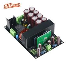 Ghxamp 400w 800 placa amplificador de alta fidelidade irs2092 + irfb4227 mono classe d amplificador potência placa alta potência nova