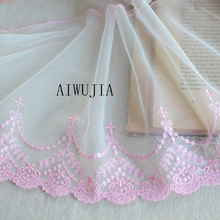 5 Yards Wide Lace Trim Polyester DIY Craft High Quality Guipure lace Nigerian Fabrics For Wedding Decor YYN611