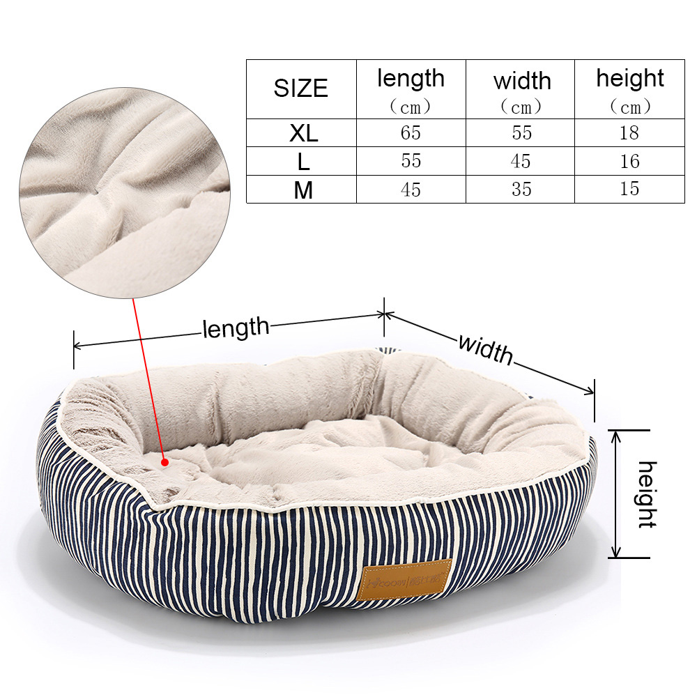 Dog Bed For Dogs Bench Soft Cushion Pet Mat Hand Wash Dog Bed For Cats Products Durable Bench Chihuahua Pet Cat Dog Beds (117)