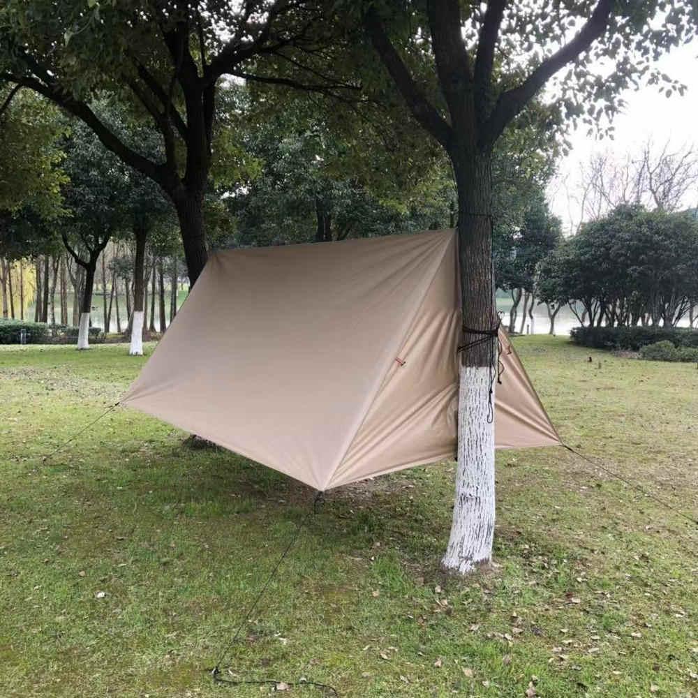 16b7b63f3 ... WJ Outdoor Hammock Shelter Sun Shade Ultralight Waterproof SNTM004 A  type Camping Tent Tarp Rain Fly ...