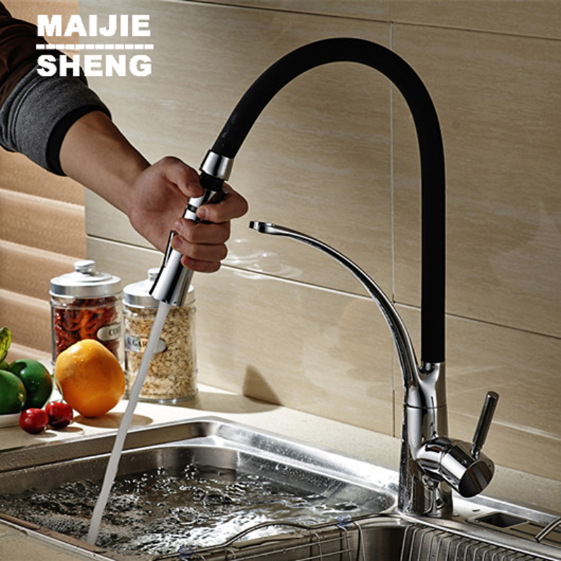 2016 new pull down kitchen faucet torneira cozinha kitchen tap pull out kitchen mixer pull out