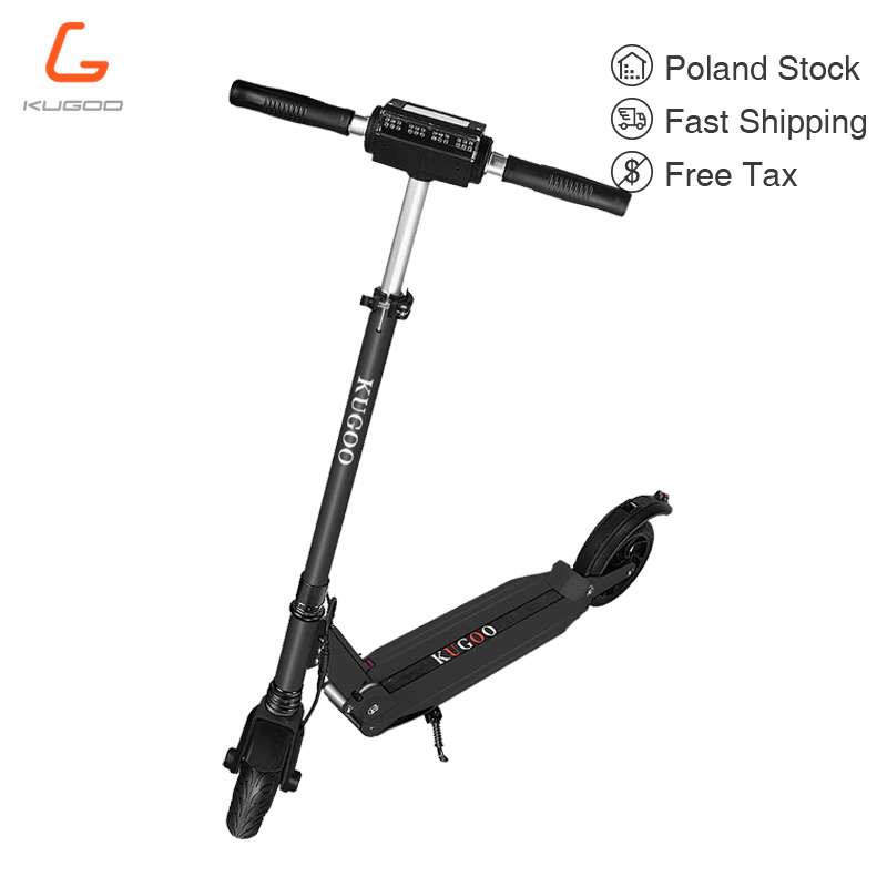 Poland stock KUGOO S1 patinetas electricas scooter Adult Electric Scooter 350W 35km/h Max Load 120KG vs m365 pro qicycle ef1