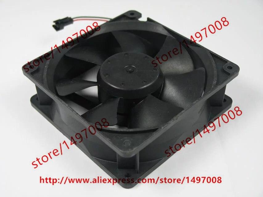 Emacro XINRUILIAN RDH1238B2 DC 24V 0.60A  120x120x38mm Server Square Fan free shipping emacro xinruilian rah1238b1 dc 220 240v 0 20a 100mm 120x120x38mm server square cooling fan