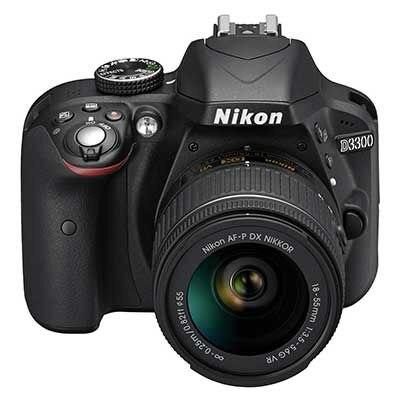 New Nikon D3300 DSLR Camera Body & AF-P 18-55mm Lens Kit купить nikon d80 body петербург