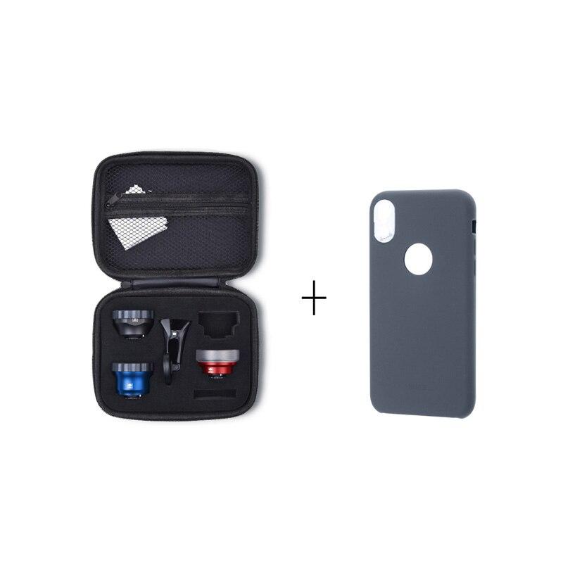 SIRUI WPF/WFM/WPM-01K/01KBR smartphone lens kit for iphoneXSIRUI WPF/WFM/WPM-01K/01KBR smartphone lens kit for iphoneX