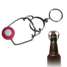 Барные Инструменты Портативный пивной упаковщик домашний лучший подарок корень шампанского пластиковые бутылки крышка флип вино пробки замена