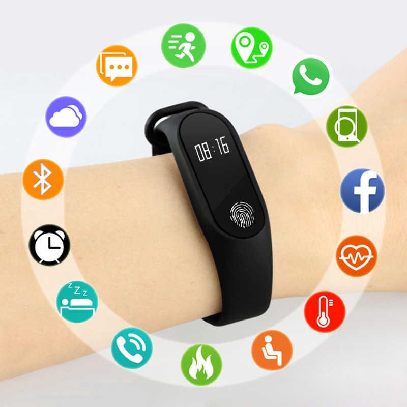 חכם שעון ילדים שעונים לילדים עבור בנות בני ספורט צמיד ילד צמיד חכם להקת כושר Tracker Smartwatch Smartband