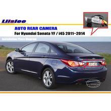 Liislee Per Hyundai Sonata YF/i45 2011 ~ 2014-Telecamera per la Retromarcia/Backup Parcheggio Della Macchina Fotografica/NTST PAL/Luce Della Targa fotocamera