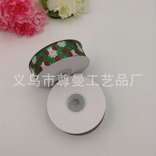 Ribbon DIY Material Width 2.5cm Digital Printing Clothing Accessories Decoration Sublimation Line Cartoon Ladybug